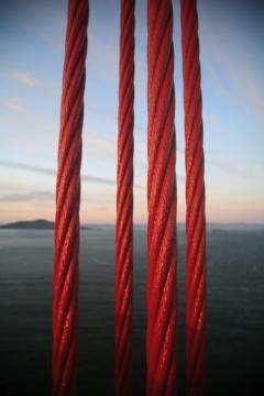 Golden Gate Bridge Cables