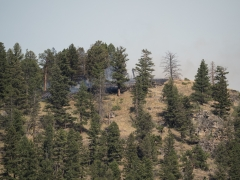 Goat Creek Fire Begins
